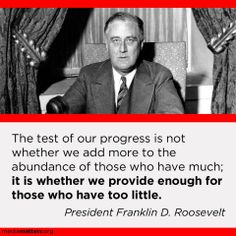 FDR nailed this.