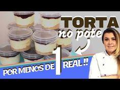 Torta Holandesa por MENOS de 1 real - Faça e venda - Denise Ferreira - YouTube Fall Desserts, Just Desserts, Canal E, Hard Candy, 1 Real, Food Art, Quiche, Recipies, Pudding