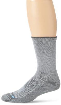 Drymax Lite Hiking Crew Socks, Grey, Medium Drymax http://www.amazon.com/dp/B003EUED60/ref=cm_sw_r_pi_dp_0kIOtb0Q1Y0G73Z3