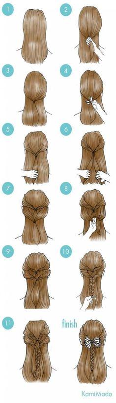 New hair messy short cute hairstyles Ideas Cute Simple Hairstyles, Pretty Hairstyles, Cute Hairstyles, Romantic Hairstyles, Hairstyles 2016, Latest Hairstyles, Hair Day, New Hair, Night Hair