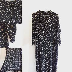 New product blackdaisy vintage silk dress #fab.#vintagefashion #1930s #1940s #ヴィンテージ #ビンテージ #ヴィンテージファッション #ヴィンテージワンピース #ヴィンテージドレス #デイジー #古着