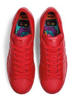 pharrell x adidas superstar supercolor!kinder schuhe pinterest