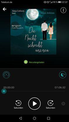 [Hörbuch Rezension C] Dani Atkins - Die Nacht schreibt und neu  #hörbuch #bookbeat #daniatkins Book Beat #knaur #droemer