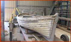 The last remaining White Star Line lifeboat.