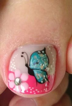 Free Image Hosting - Upload Pictures Without Sign-up Cute Toe Nails, Toe Nail Art, Diy Nails, Pretty Nails, Cute Pedicure Designs, Toe Nail Designs, Nail Polish Designs, Cute Pedicures, Nail Decorations