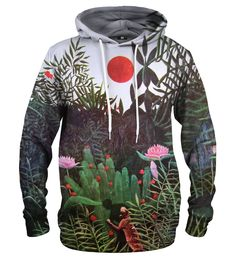 Virgin Forest hoodie Material: Cotton, Polyester Cut: Unisex Origin: Made in EU Availability: Made to order Kangaroo, Unisex, Hoodies, Cotton, Collection, Products, Fashion, Self, Baby Bjorn
