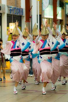 Awa-odori OSAKA,JAPAN 大阪天満阿波踊り
