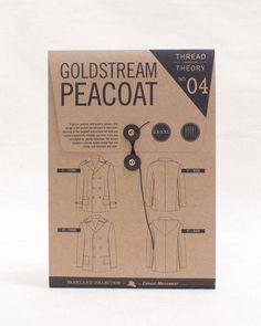 Goldstream Peacoat   Men's Clothing Pattern   Thread Theory Designs