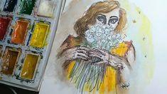 Summer watercolor by  @anna.valeri