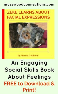 ZEKE LEARNS FACIAL EXPRESSIONS An Engaging Social Free Printable Picture Book To Teach Children