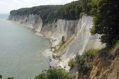 Jasmund Nationaal Park in Mecklenburg-Vorpommern Duitsland