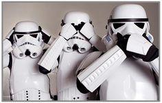 Hear no droids See no droids Speak no droids