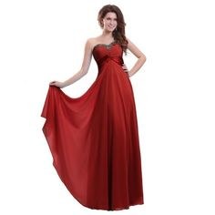 Sunvary Beautiful Sweetheart Neckline A-line Chiffon Bridesmaid Dresses Long with Sequins- US Size 14-Red Sunvary,http://www.amazon.com/dp/B00BIY3IXS/ref=cm_sw_r_pi_dp_WXyErbAE153F43B8