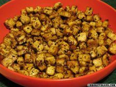 Grilled Italian Tofu Chicken for full recipe: http://2brokevegans.com/grilled-italian-tofu-chicken/