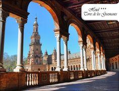 Hotel romántico en Sevilla para 2 - 31€