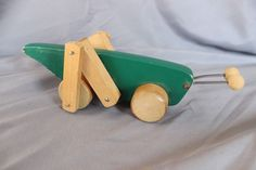 Creative Playthings wooden Grasshopper toy
