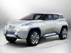 Nissan Leaf Based Electric Crossover Concept