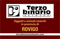 Oggetti e animali smarriti in provincia di Rovigo