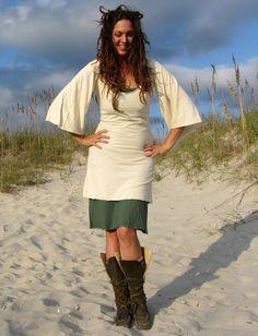 Gaia Conceptions - Bell Sleeve Short Dress, $130.00 (http://www.gaiaconceptions.com/bell-sleeve-short-dress/)