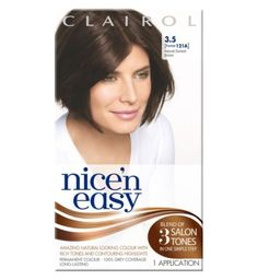 Nicen Easy Permanent colour 3.5 Natural Darkest Brown - Boots