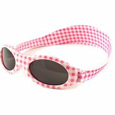 Picture of Pink Gingham Check  Sunglasses Adventure Banz