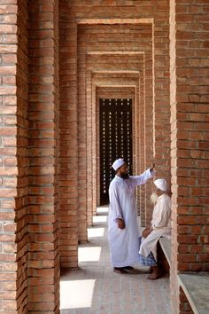 """Built in brick, this mosque is an attempt at creating a language of architecture that takes its essence from the Sultanate period and gives it a contemporary expression,"" said Tabassum."