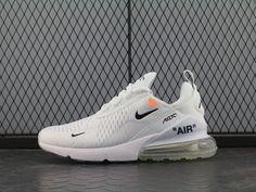 brand new 93866 00539 Off white x Nike Air Max 270 OW White Black Orange Men Women - So Cool - New  Virgil Abloh Design Off white x Nike Air Max 270 OW White Black Orange ...