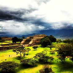 Monte alban Oaxaca Mexico