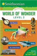 Smithsonian Readers: World of Wonder Level 3 - Silver Dolphin