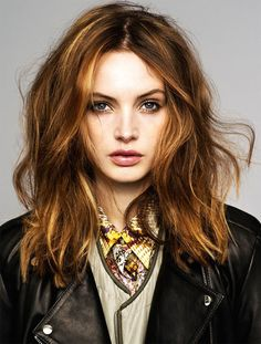 MIDDLE PART- HAIR ///// {style inspiration | editorial : mona johannesson for eurowoman}
