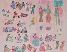 New Collection - Romance of the Running Stitch: Bihar | The Story by Saffronart