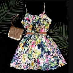 vestido-regata-soltinho-fresco-2016-2015-estampa-tropical-comprar