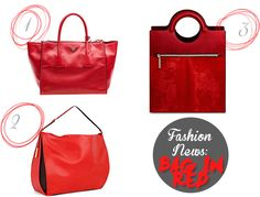 Fashion News: Bag in Red