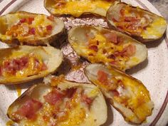 The Busy Bee's: Potato Skins