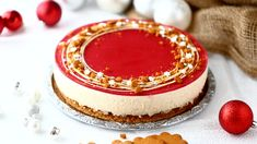 Glögijuustokakku, Joulun paras juustokakku - Suklaapossu Cheesecake, Sweet, Desserts, Food, Diy, Candy, Tailgate Desserts, Deserts, Bricolage