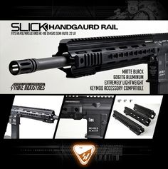 Finally. More rail options for the HK416/MR556 and the Walther .22