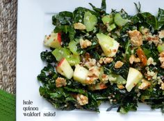 Kale and Quinoa Waldorf Salad