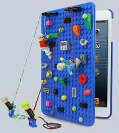 A LEGO iPad case is a good start!