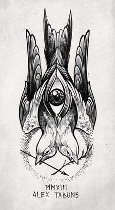 Ögon + fågel