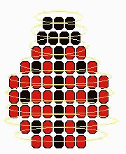 Instructions and Patterns for Pony Beads: Lady Bug, Bumble Bee and Gecko Pony Bead Patterns - Fun Activity for Kids. Pony Bead Projects, Pony Bead Crafts, Beaded Crafts, Pony Bead Patterns, Beading Patterns, Lady Bug, Plastic Bead Crafts, Beaded Spiders, Beaded Banners