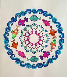 Fish Mandala From Nature Mandalas By Thaneeya McArdle