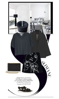 """Stella Mccartney Jeanne Skirt"" by mrs-box ❤ liked on Polyvore featuring moda, The Row, STELLA McCARTNEY, Acne Studios, Marc Jacobs, women's clothing, women's fashion, women, female e woman"