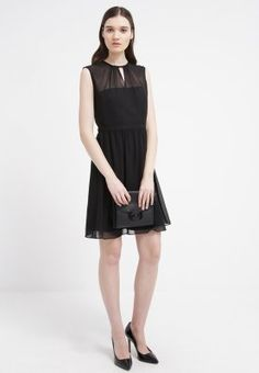 Esprit Collection Sukienka koszulowa - black za 314,1 zł (01.03.16) zamów bezpłatnie na Zalando.pl.