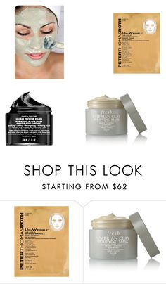 """Untitled #463"" by varsha-ram ❤ liked on Polyvore featuring beauty, Peter Thomas Roth, Fresh and facemasks"