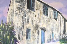 La Maison, acryl on canvas Paintings, Canvas, Art, Home, Kunst, Tela, Art Background, Paint, Painting Art