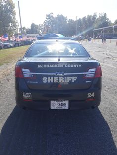 2014 Ford Police Interceptor Sedan Mccracken County Kentucky Rear