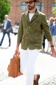 9b32255cd05 The strongest street style at Pitti Uomo S S  17