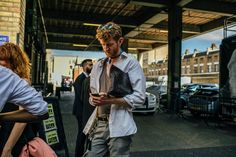 The Best Street Style From the London Spring '18 Menswear Shows
