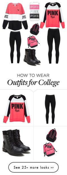 """Twins look"" by malabadi on Polyvore featuring Victoria's Secret and Peace of Cloth"
