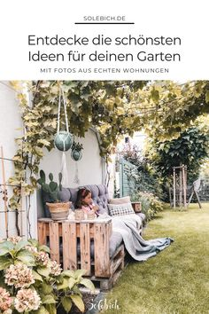The most beautiful ideas for your garden, your terrace and your balcony – from … – Garten, Balkon & Terrasse – Gestaltungsideen – patio
